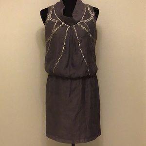 SUZI CHIN for Maggie Boutique Beaded Sheath Dress